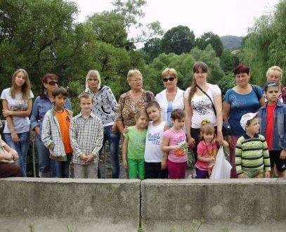 Отдых наших подопечных в Закарпатье — 2012 год