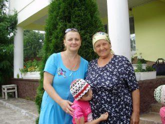 Москалева Нина и ее мать Кучерук Галина