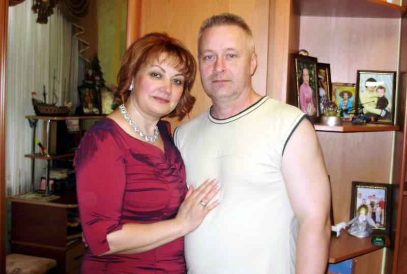 """Основатели БФ """"Моя Надежда"""". Нина и Александр Москалевы."""