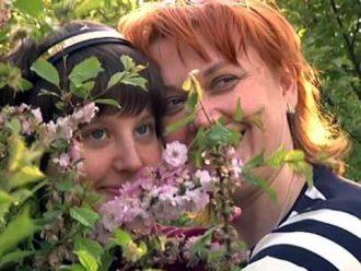Надежда Лисовская и Нина Москалева