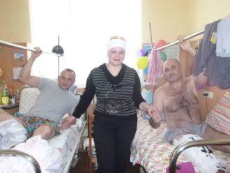 Москалева Нина в Главном военном госпитале Киева