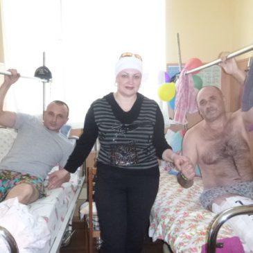 Киевский военный госпиталь. Майдан. АТО