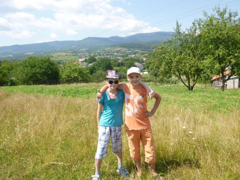 Фотоотчеты: Отдых наших подопечных в Закарпатье — 2014 год