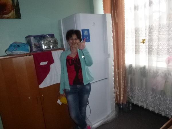 Холодильник для нашего детского отделения, на Верховинную - 69